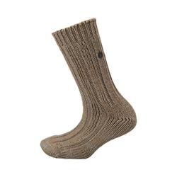 Birkenstock Socken Twist Bootsock Baumwolle Socken braun 39-41