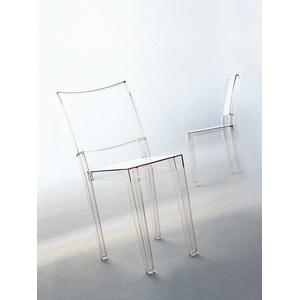 Kartell Stuhl La Marie transparent, Designer Philippe Starck, 87.5x38.7x52.5 cm