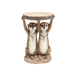KARE Beistelltisch Beistelltisch Animal Meerkat Sisters 33cm