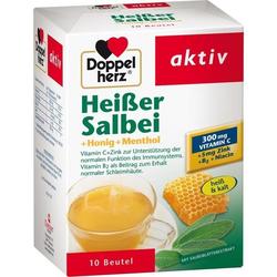 Doppelherz Heißer Salbei+Honig+Menthol