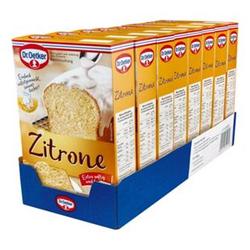 Dr. Oetker Backmischung Zitronen Kuchen 485 g, 8er Pack
