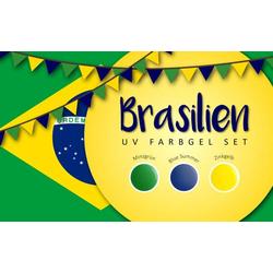 UV Farbgel Set - Brasilien 5ml