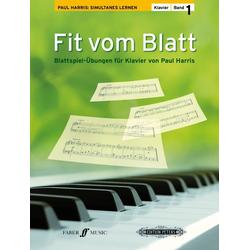 Fit vom Blatt Klavier. Bd.1