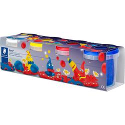 STAEDTLER Knete NORIS Spielknete, extra weich, 4 Basisfarben