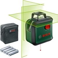 Bosch Kreuzlinienlaser AdvancedLevel 360 (Packung), Ø Arbeitsbereich: 24m