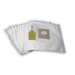 eVendix Staubsaugerbeutel 10 Staubsaugerbeutel Staubbeutel passend für Staubsauger Solac 942 - 943, passend für Solac