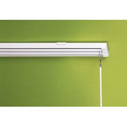 sunlines Schienensystem, 3 läufig-läufig, Wunschmaßlänge weiß Gardinenschienen Gardinen Vorhänge Schienensystem