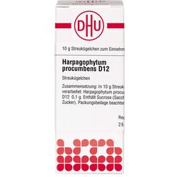 HARPAGOPHYTUM PROCUMBENS D 12 Globuli 10 g