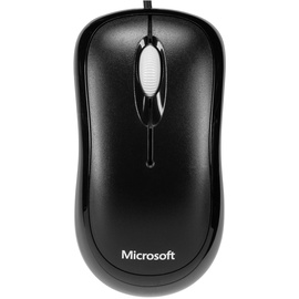 Microsoft Basic Optical Mouse for Business schwarz (4YH-00007)