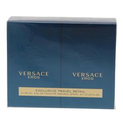 Versace Eau de Toilette Versace Eros Geschenkset 2 x 30ml EDT Spray