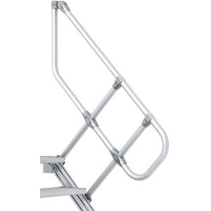 Zarges Handlauf für 45° Treppe 4 Stufen