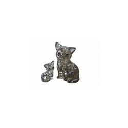 HCM KINZEL 3D-Puzzle Crystal Puzzle - Katzenpaar, Puzzleteile