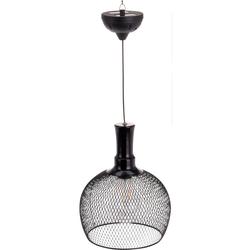 Solar Hängelampe - Solar Beleuchtung Solarlampe FILAMENT LED Gartenbeleuchtung 18x22cm