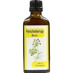 FENCHELSIRUP Berco 100 ml