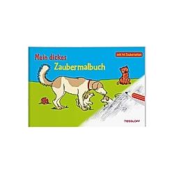 Mein dickes Zaubermalbuch - Buch