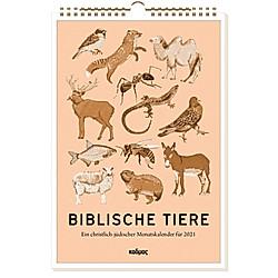 Biblische Tiere (2021) - Kalender