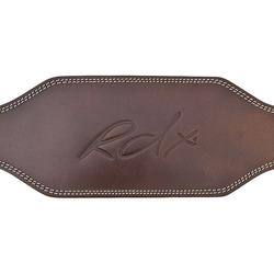 RDX 6 Zoll Braun Gewichthebergürtel (Größe: M, Farbe: Braun)