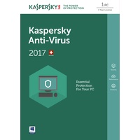 Kaspersky Lab Anti-Virus 2017 UPG DE Win