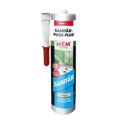 MEM Sanitär-Fuge Plus beige, 290 ml