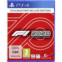 F1 2020 Schumacher Deluxe Edition PS4 USK: 0