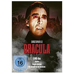 Dracula - 3 DVD-Box (Dracula / Draculas Rückkehr / Wie schmeckt das Blut von Dracula) - DVD  Filme