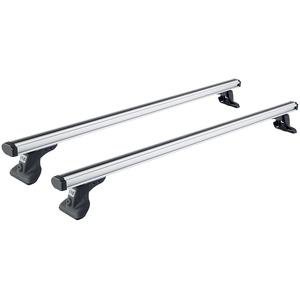 Cruz 924–507 kommerziellen Aluminium Dachträger Bar Rack, Set von 2