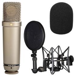 RODE Microphones Mikrofon Rode NT1-A Mikrofon Set + WS2 Windschutz