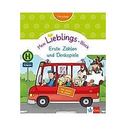 Klett Mein Lieblings-Block - Erste Zahlen und Denkspiele. Dr.Birgit Ebbert  - Buch