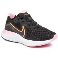 Nike Renew Run W black/white/pink/orange pulse 39