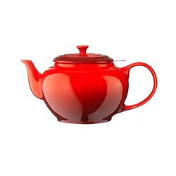 Le Creuset Teekanne mit Metallsieb 1,3 L, Cerise