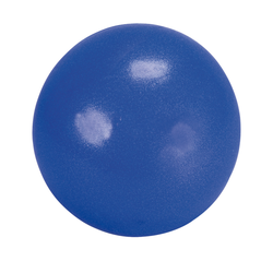 Pilates Ball BASIC, Blau, 25 cm, PVC