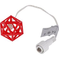 Guru-Shop LED-Stern für außen Ersatz- Korpus für Baltasar rot