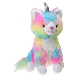 Karlie Plüschspielzeug Katze, Regenbogenfarben