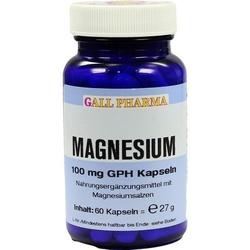 MAGNESIUM 100 mg Kapseln 60 St.