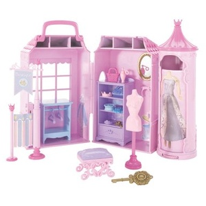 Mattel - Barbie Mini Knigreich K8027-0 - Prinzessinnen Boutique Spielset