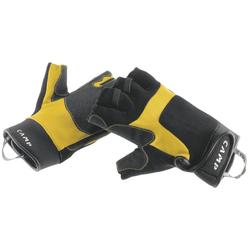 Camp Pro Fingerless - Halbfingerhandschuhe Black/Yellow S