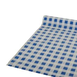 Tischdecke, Folie 50 m x 80 cm blau
