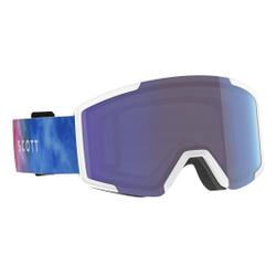 Scott - Shield Cyan Blue/Pink  - Skibrillen