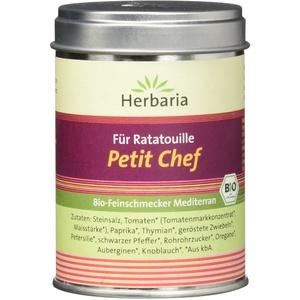 Herbaria Petit Chef für Ratatouille, Bio Feinschmecker Mediterran, 75 g