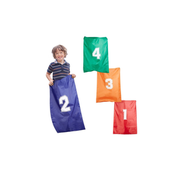relaxdays Hüpfspielzeug Hüpfsäcke für Kinder 4er Set