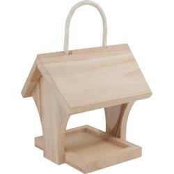 VBS Futterhaus, Holz, 17 cm x 15 cm x 14,5 cm