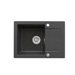Bergstroem Küchenspüle Bergstroem Granitspüle 420x580 Schwarz