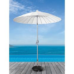 Sonnenschirm Simi weiß, 244 cm