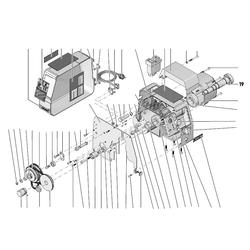 PROXXON 24002-01-19 Hauptspindel für Drehmaschine PD 250/E