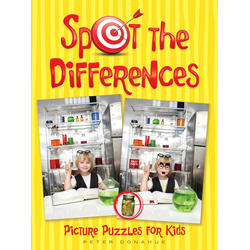 Spot the Differences Picture Puzzles for Kids: eBook von Peter Donahue