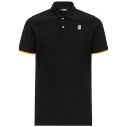 K-way - Vincent Contrast Black - Poloshirts - Größe: XL