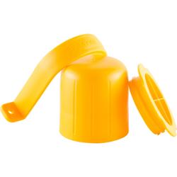 ABENA® SprayWash Tablet Kit Behälter, Farbbehälter für SprayWash Tabs, Farbe: gelb