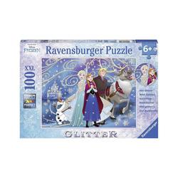 Ravensburger Puzzle Puzzle, 100 Teile XXL, 49x36 cm, mit Glitzer,, Puzzleteile