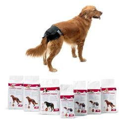36er Sparpack Hundewindel Einwegwindel Hunde Comfort Nappy