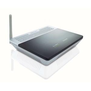 Philips Router WLAN Wireless Modem ADSL2+ 54 Mbps 802.11b/g WPA, WPA2, WEP